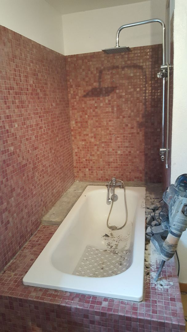 Installation d'une douche à la place d'une baignoire