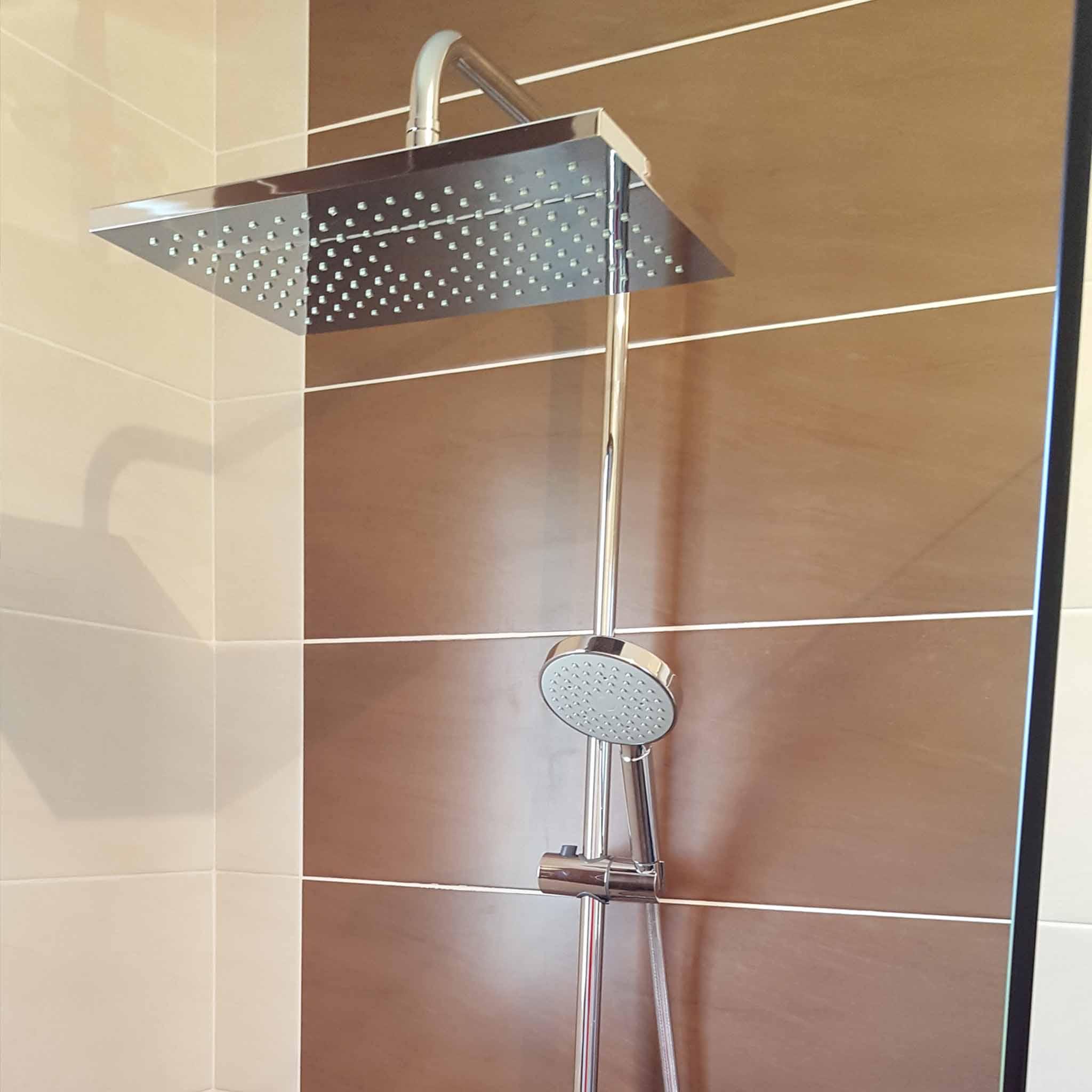 Installation d'une douche